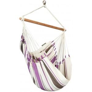 Image of Caribeña Purple - Basic-hængekøjestol I Bomuld